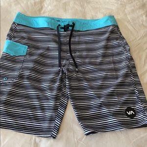 RVCA Board Shorts sz 34